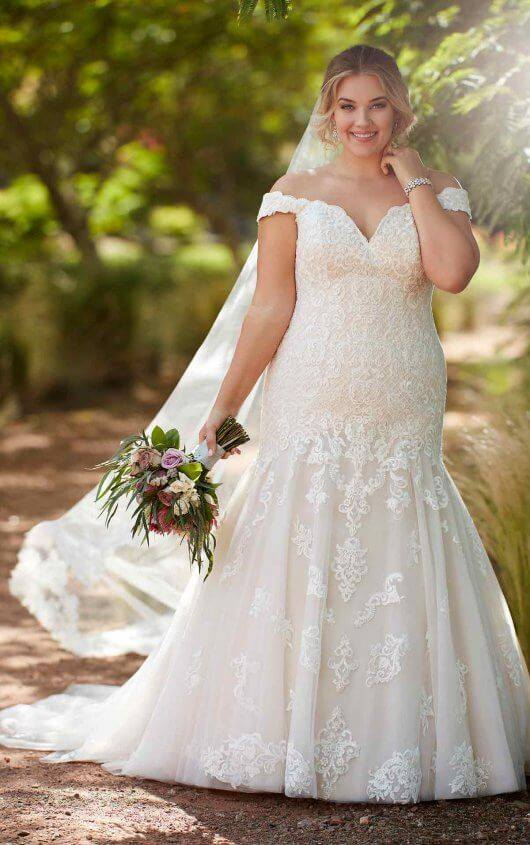 Essense Wedding Dress D2352