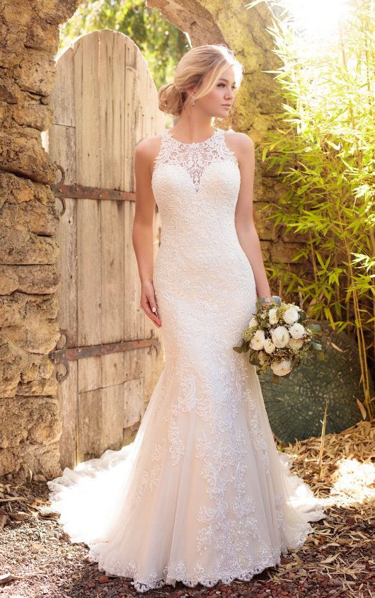 Plus size wedding dress from Essense