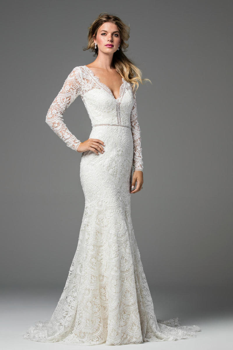 Long Sleeve Wedding Dress with Lace