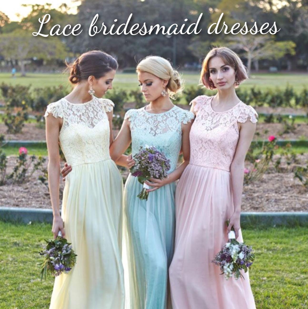 Trend alert lace bridesmaids dresses pearls and lace wedding lace bridesmaids dresses pearls and lace wedding dresses ireland ombrellifo Image collections