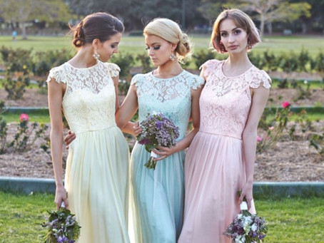 Trend Alert! Lace Bridesmaids Dresses