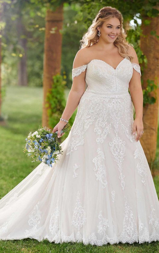 Essense Wedding Dress D2525