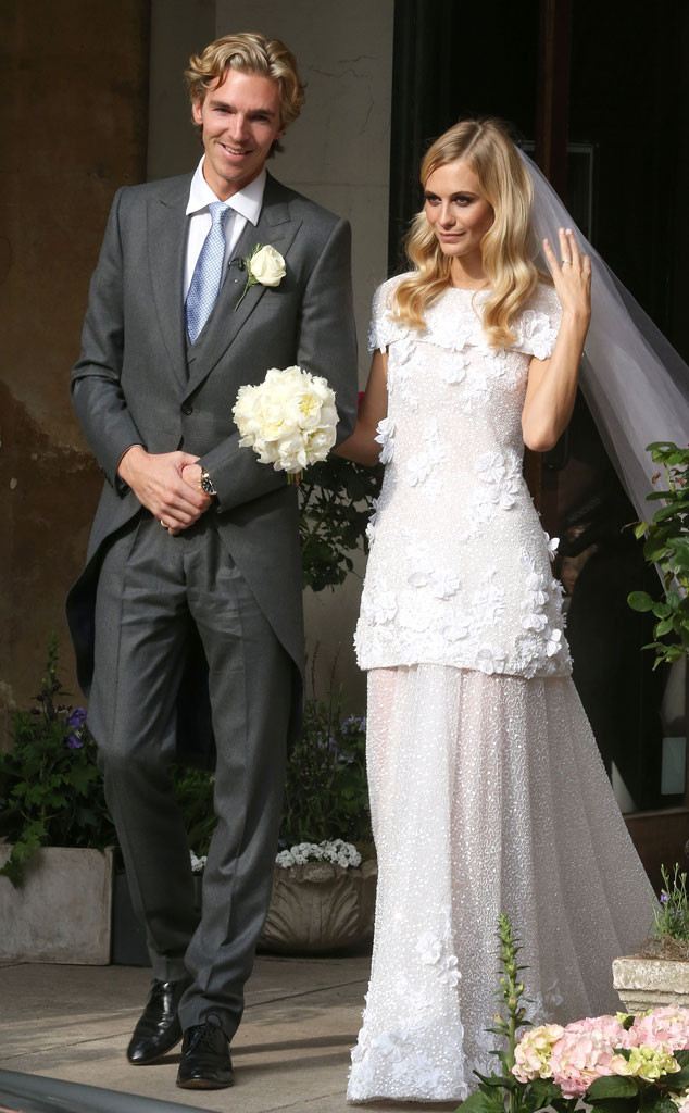 Poppy Delevingne Celebrity Wedding Dresses