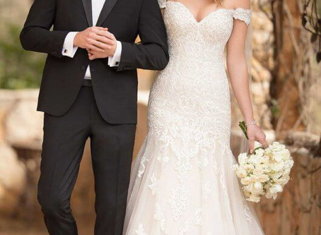 Our New Plus Size Wedding Dress Collection.