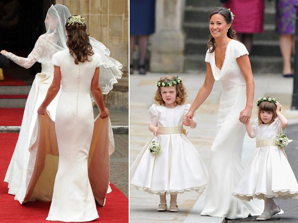 Kate Middleton Wedding Dress, Pippa Middleton Bridesmaids Dress