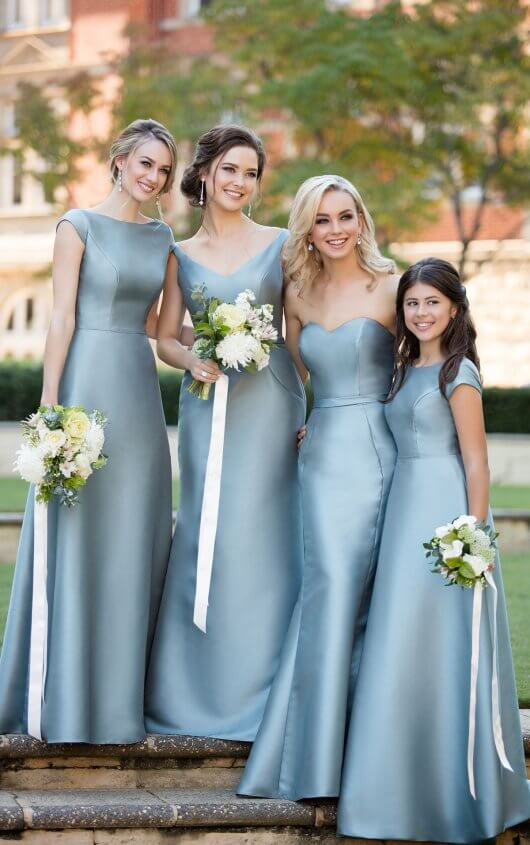 Mikado Junior Bridesmaids Dress