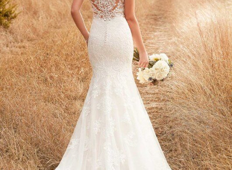 When to start shopping for your wedding dress!