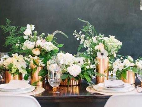Trend Alert! Copper Infused Wedding