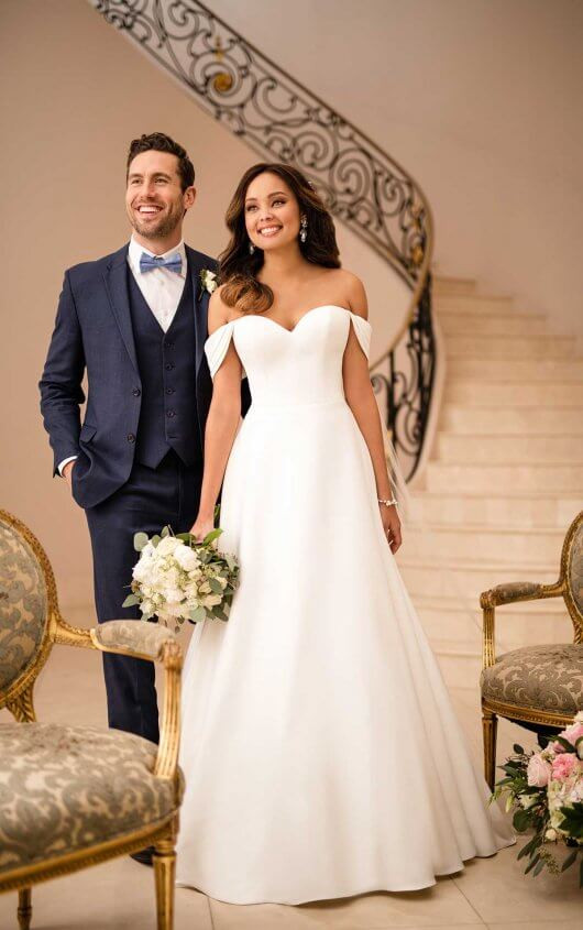 Plus size wedding dress from Stella York