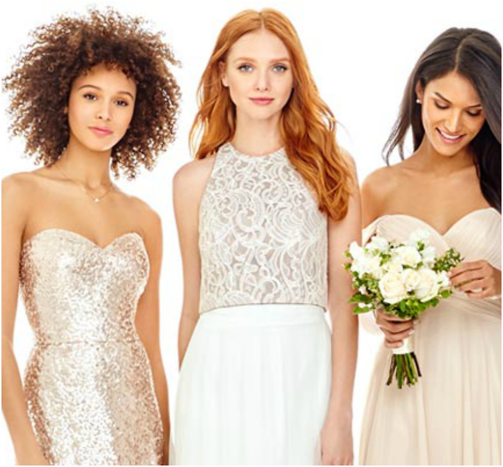 2017 Bridesmaids Trends- Dessy Bridesmaids Seperates
