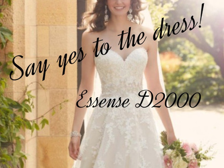 Say Yes To The Dress...Essense D2000