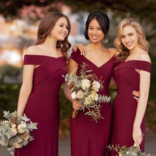 Berry Bridesmaids Dresses.jpg