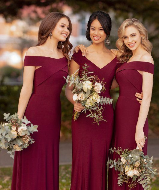 Berry Bridesmaids Dresses.jpg