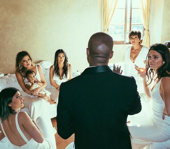 Kim Kardashian Wedding, White Bridesmaids Dresses!