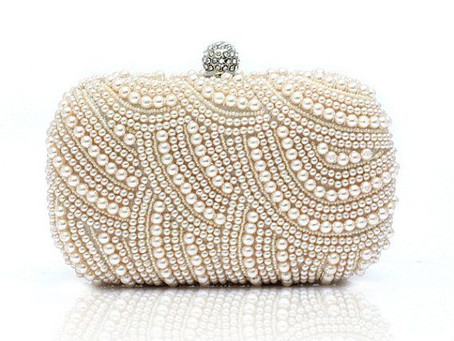 It's in the Bag....Why Every Bride Needs a Bridal Clutch!