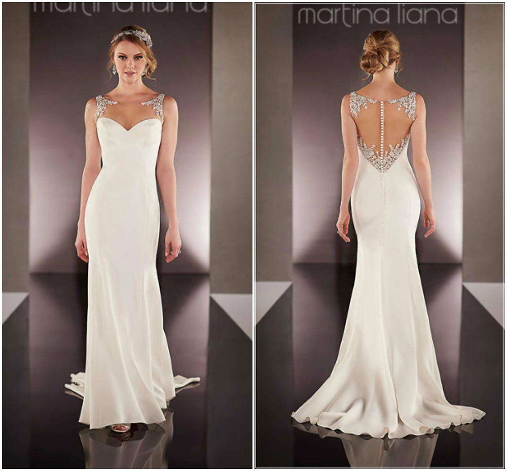 734 Wedding Dress by Martina Liana