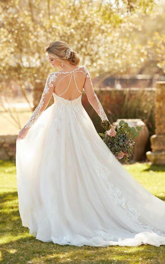 Long Sleeve Wedding Dress From Essense