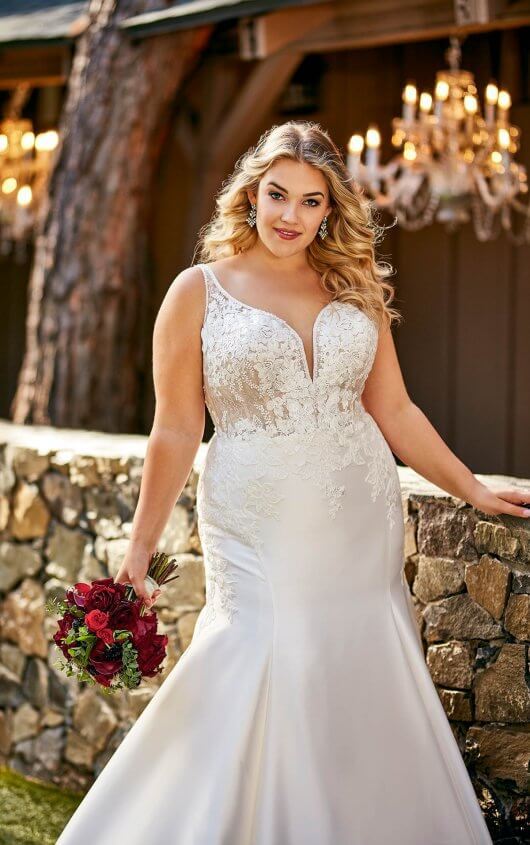 Essense D2675 Wedding Dress