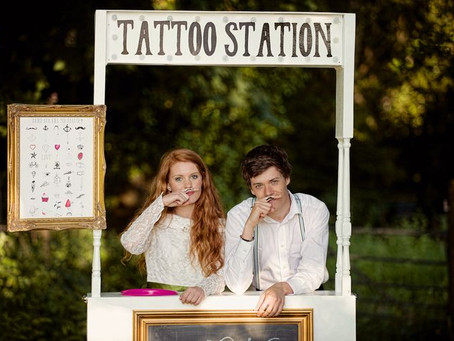 Get Inspired! Temporary Tattoos: A Quirky Wedding Favour