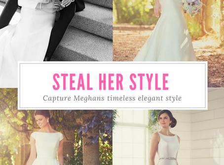 Steal Meghan Markle's Wedding Dress Style