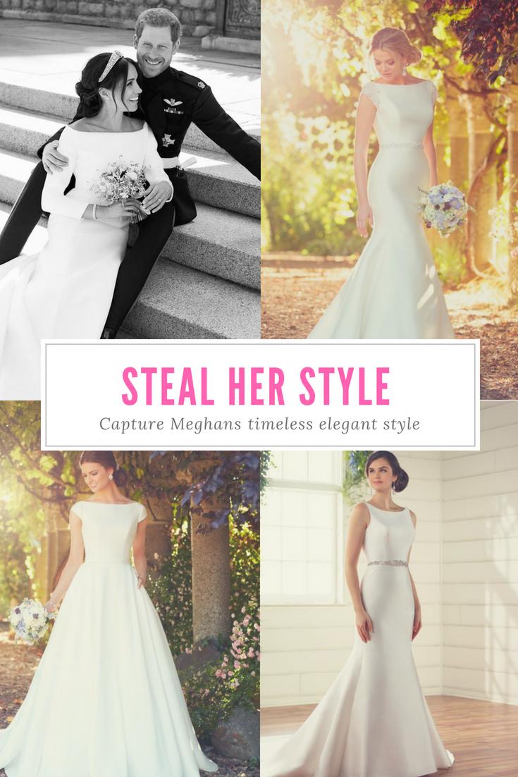 Meghan Markle Wedding Dress Style