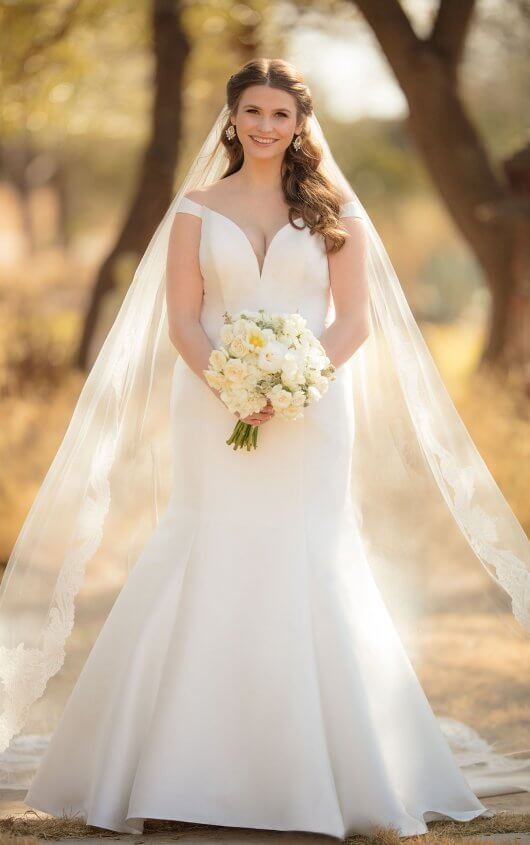 Essense Wedding Dress D2477