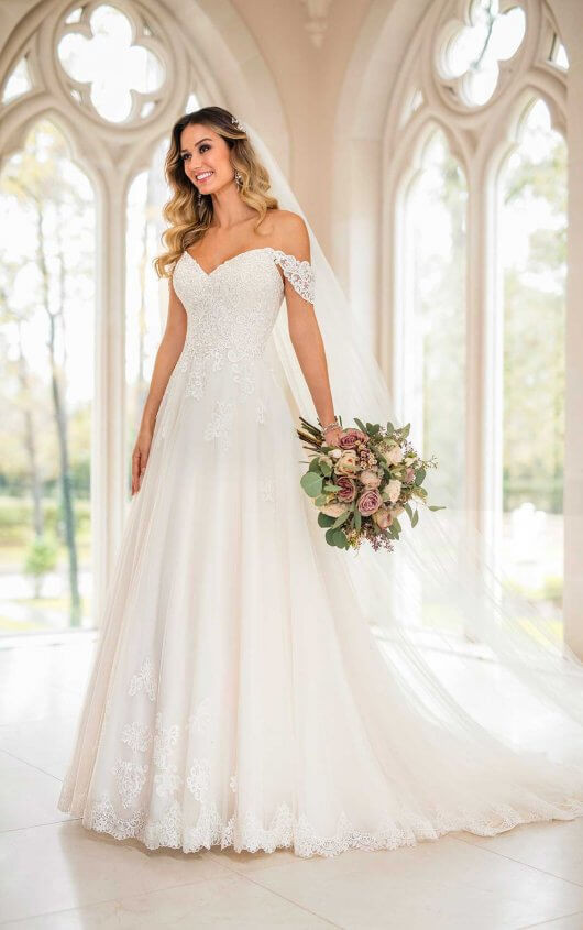 Plus Size Wedding Dress by Stella York