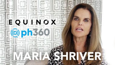 Maria Shriver with ph360 and Move for Minds
