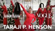 Taraji P. Henson Spends the Night at Neiman Marcus this Holiday