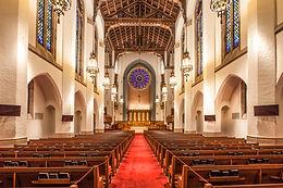 Renovation Sound System Install in First Presbyterian Church, Greensboro, NC