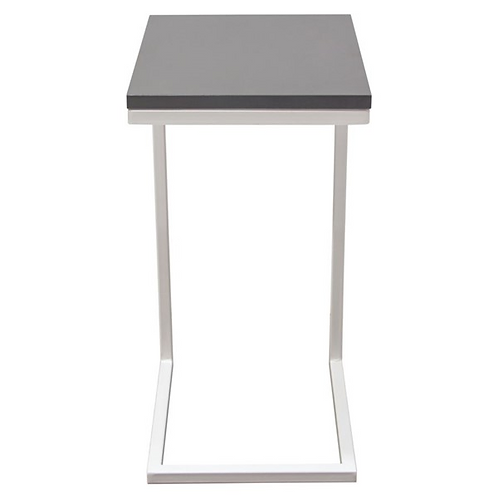 Edge Side Table, Gray