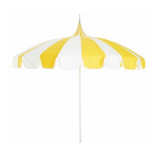 Priscilla Striped Umbrella