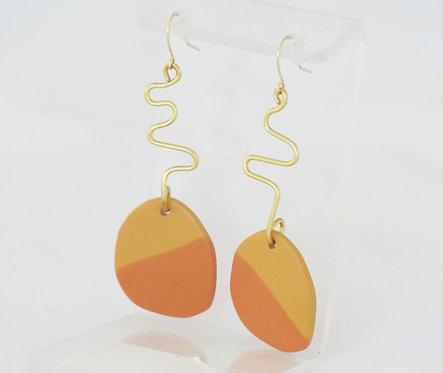 Memphis Clay Earrings