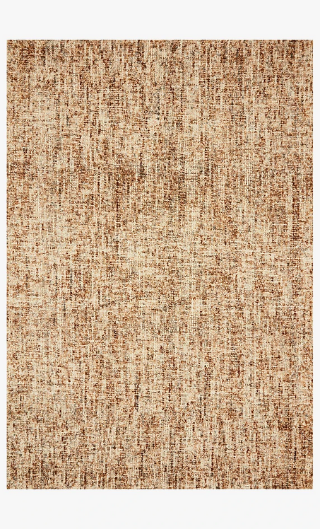 Harlow Area Rug, Rust / Charcoal