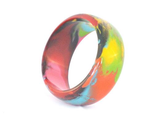 Bright Multi-Color Bangle