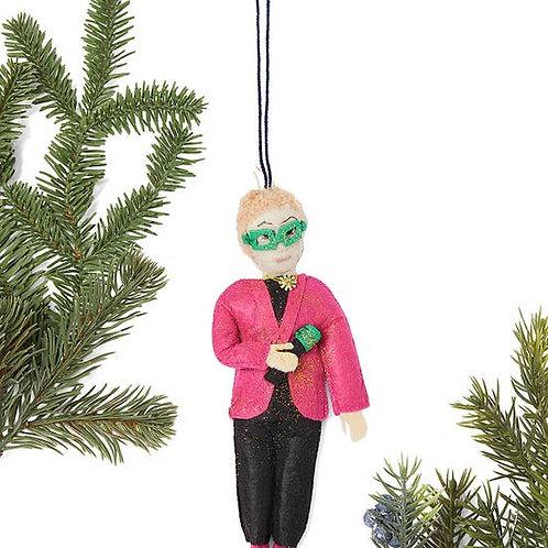 Elton John Ornament