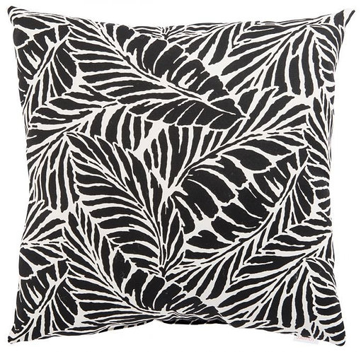 Graphic Palm Pillow