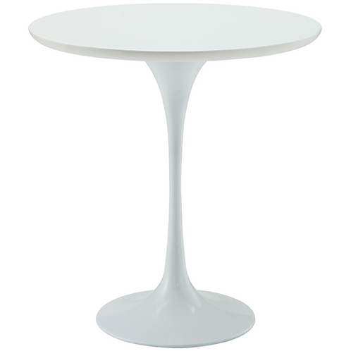 """White Tulip Side Table, 20"""""""