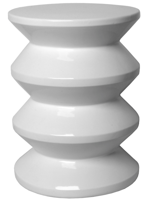 Stacked Outdoor Stool