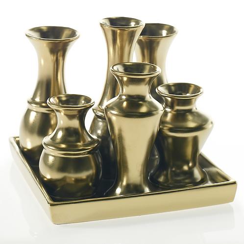 Chic Vase Gold Square