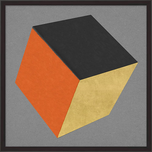 Cube with Gold 9