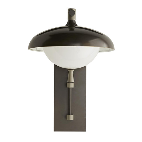 Stanwick Outdoor Sconce, Aged Iron