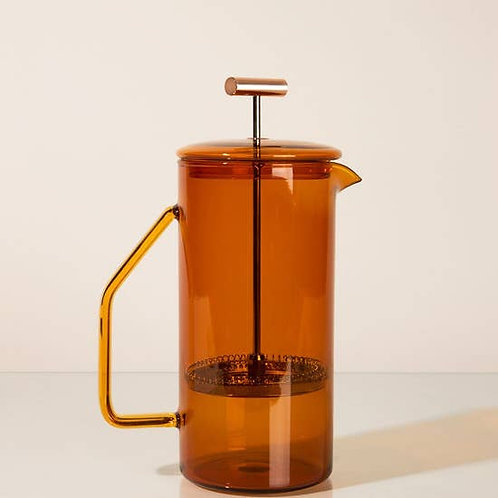 Preorder - Amber Glass French Press