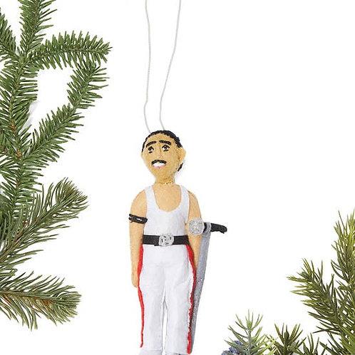 Freddie Mercury Ornament