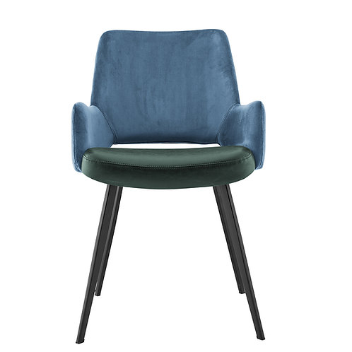 Daniel Arm Chair, Blue