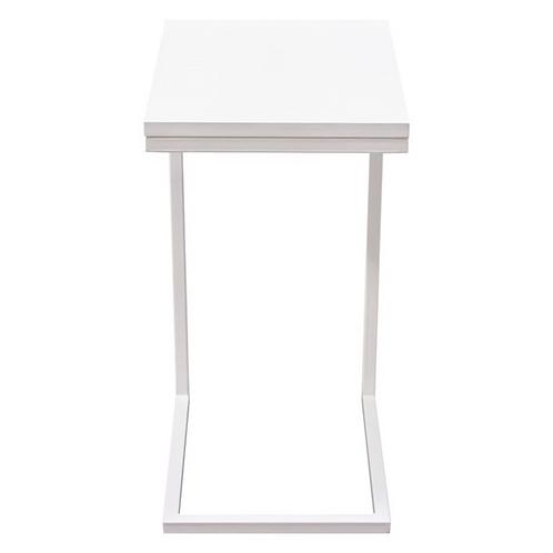 Edge Side Table, White
