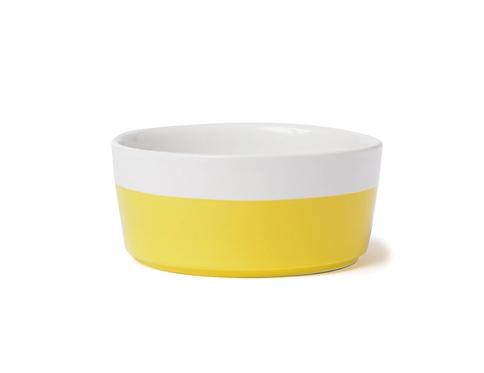 Dipper Dog Bowl, Yellow