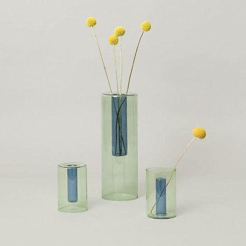Reversible Glass Vase, Small