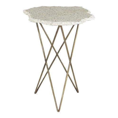 Terrazzo Accent Table
