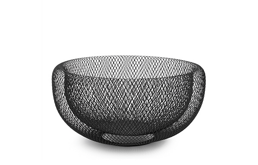 Double Wall Mesh Fruit Basket, 11""